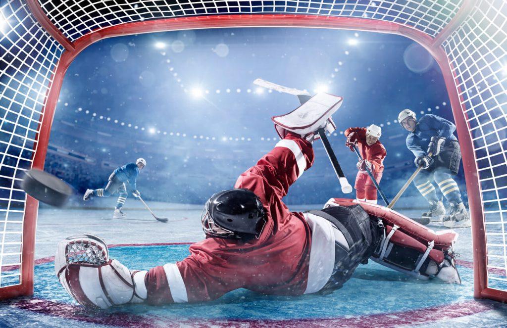 Betta på hockey hos svenska spelsajter